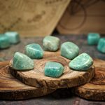 Amazonite Crystals for Grids by Healing Stones for You