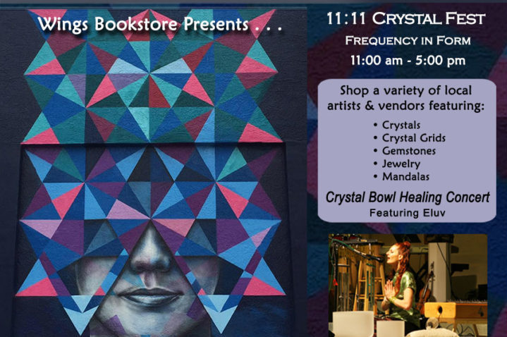 Wings Bookstore 11:11 Crystal Fest