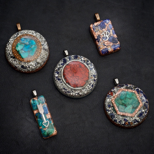 Orgonite Pendants by Healing Stones for You
