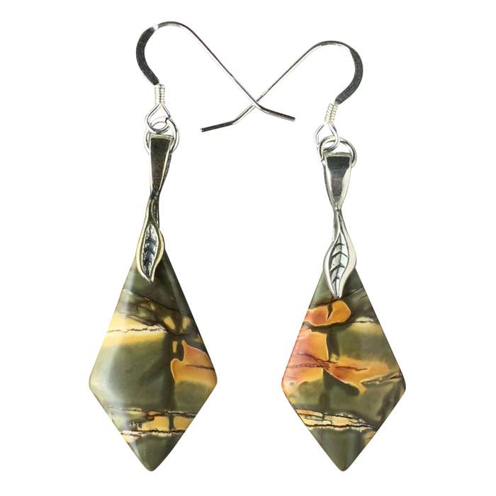 stone earrings vintage jasper jewelry bohemian store ethnic dangle diablo designer cape european dropshipping products womens natural