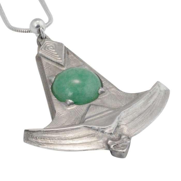 Aventurine Pendulum Blade Pendant