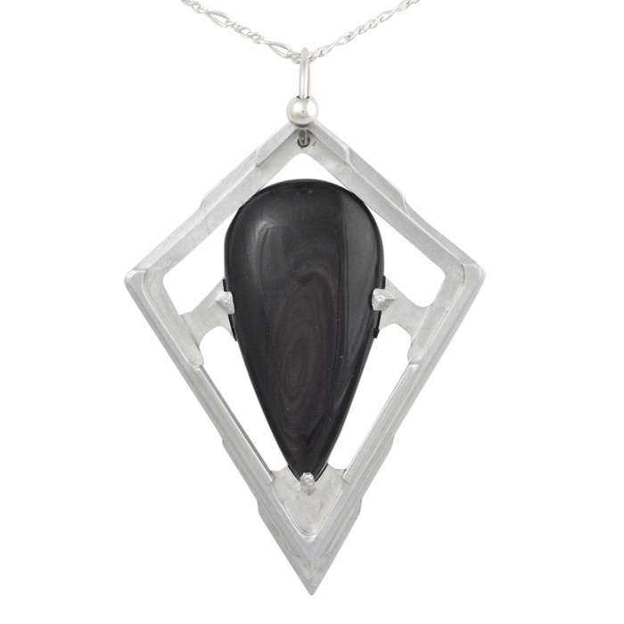 Gold sheen obsidian pendant tranche healing stones for you gold sheen obsidian pendant tranche aloadofball Image collections