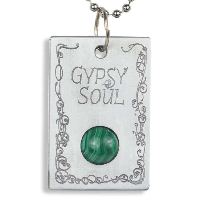 Malachite 'Gypsy Soul' Pendant
