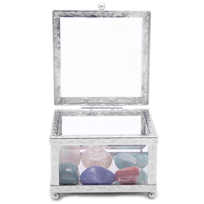 Clear Electronic Smog Intention Stone Set