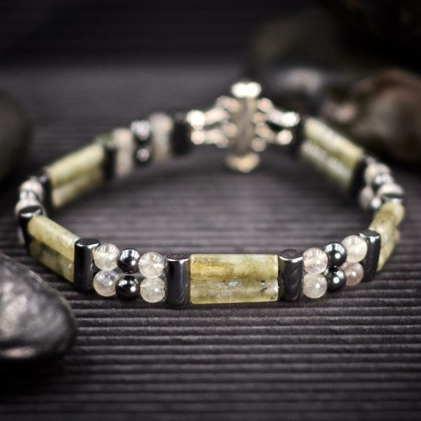 Labradorite Double Power Bracelet by Healing Stones for You