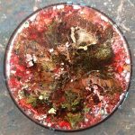 Orgonite® Energy Charging Plate with Yellow Jasper and Aluminum by Healing Stones for You