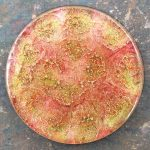 Orgonite® Energy Charging Plate with Amazonite and Copper by Healing Stones for You