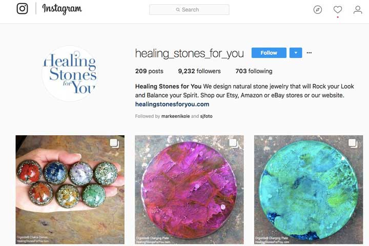 Healing Stones for You on Instagram