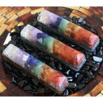 Orgonite® 7 Stone Chakra Wand by Healing Stones for You