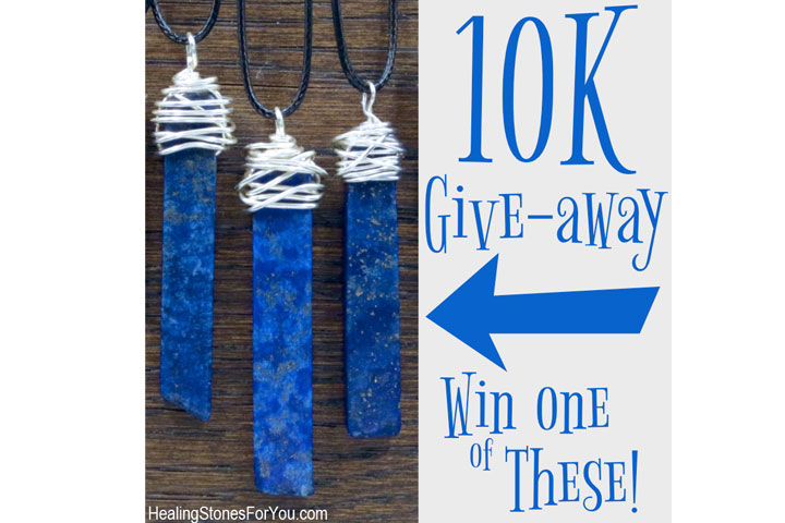 10K-Giveaway from Healing Stones for You
