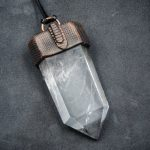 Clear Quartz Center Point Pendant by Healing Stones for You