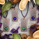Hammered Copper Pendants from Healing Stones for You