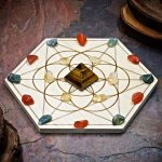 Attract Abundance Mini Grid Set by Healing Stones for You