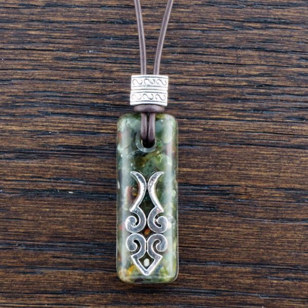 Nephrite Jade Suspension Pendant by Healing Stones for You