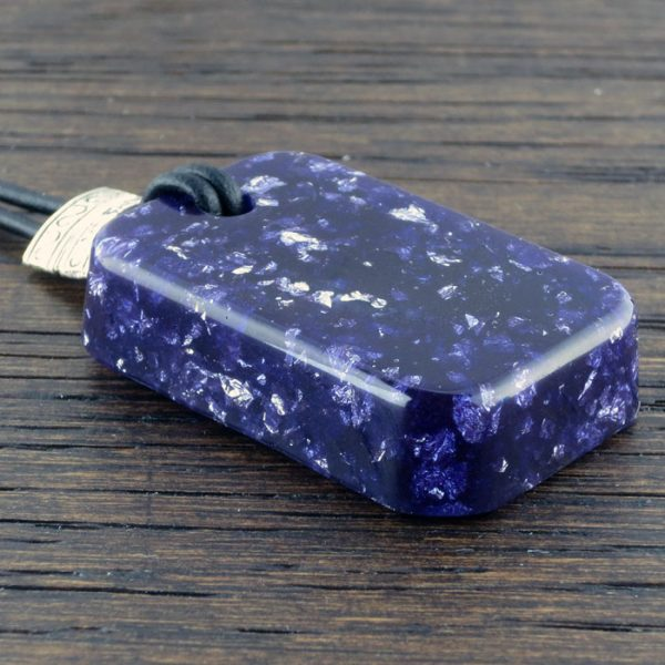 Purple Stardust Orgonite® Pendant by Healing Stones for You