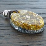 Lapis Lazuli Stardust Orgonite® Pendant by Healing Stones for You