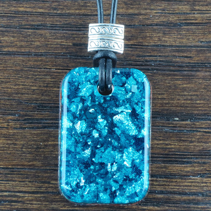 Red Jasper Stardust Orgonite® Pendant by Healing Stones for You