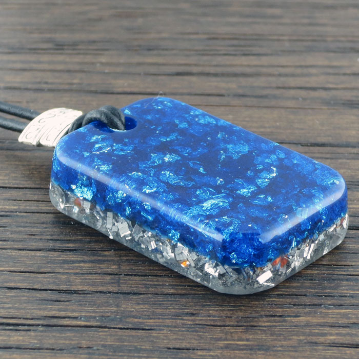 Fire Agate Stardust Orgonite® Pendant by Healing Stones for You