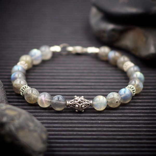 Labradorite Sterling Silver Bracelet by Healing Stones for You