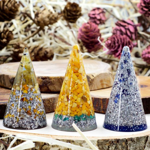 Orgonite® Ring Cones by Healing Stones for You
