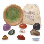 9 Crystal Cleanse Chakra Set by Healing Stones for You