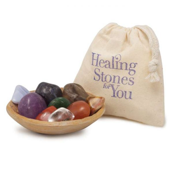 9 Stone Cleanse Chakra Set by Healing Stones for You