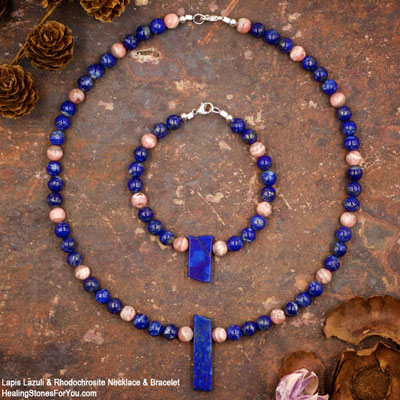 Necklace and Bracelet Sets by Healing Stones for You