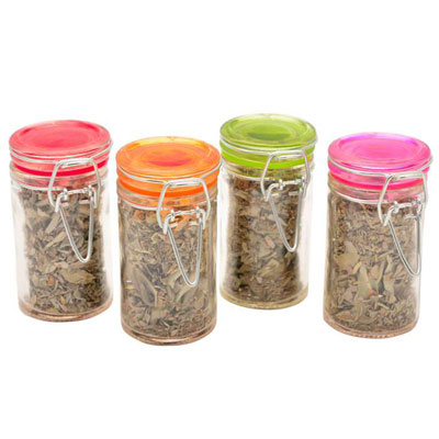 White Sage in Glass Jars from Healing Stones for You