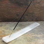 Selenite Incense Stick Holder by Healing Stones for You