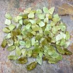 Green Calcite Crystals for Grids by Healing Stones for You