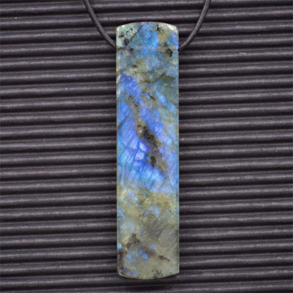 Labradorite Double Sided Pendant by Healing Stones for You