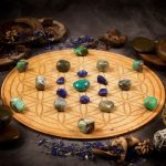 Nurture Relationships Large Crystal Grid Set by Healing Stones for You