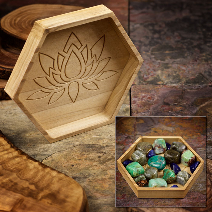 Nurture Relationships Crystal Tray by Healing Stones for You