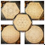 Sacred Geometry Large Grids by Healing Stones for You