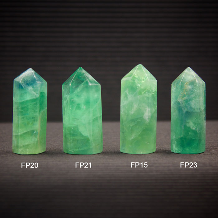 Fluorite Center Points for Grids by Healing Stones for You