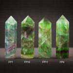 Large Fluorite Standing Points by Healing Stones for You