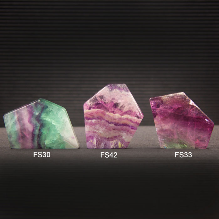 Fluorite Slabs by Healing Stones for You