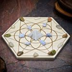 Fertility Boost Healthy Pregnancy Mini Crystal Grid Set by Healing Stones for You