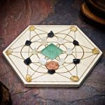 New Beginnings Mini Crystal Grid Set by Healing Stones for You