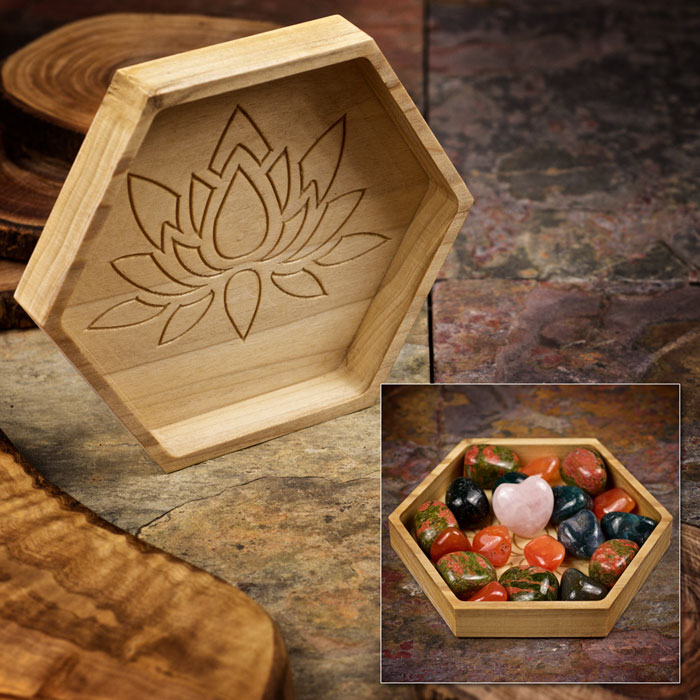Fertility Boost Crystal Tray by Healing Stones for You