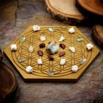 Rekindle Passion Mini Crystal Grid Set by Healing Stones for You