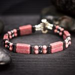 Rhodonite Double Power Bracelet by Healing Stones for You