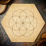Seed of Life Large Grid Board by Healing Stones for You