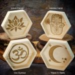 Laser Engraved Wood Dish by Healing Stones for You