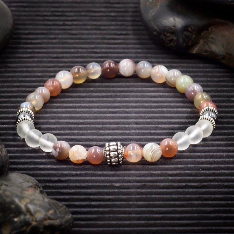 Quit Smoking Intention Bracelet by Healing Stones for You
