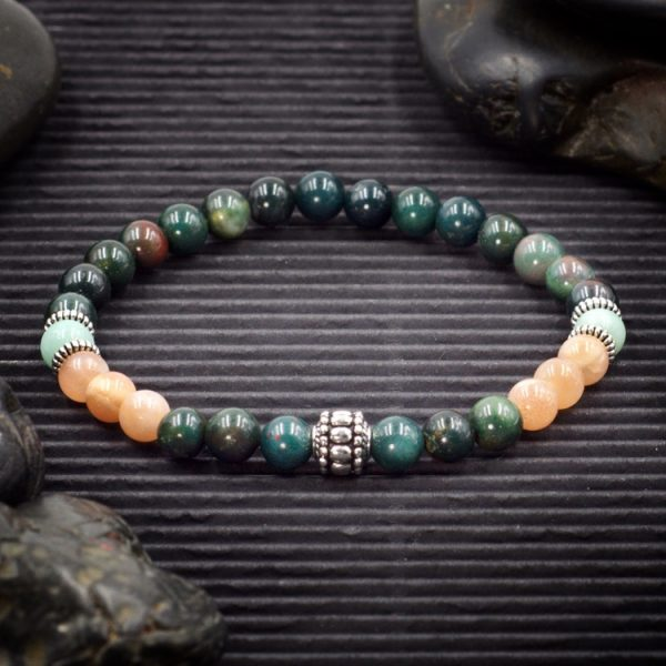 Stress Relief Intention Bracelet by Healing Stones for You