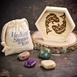 Pisces Zodiac Crystals with Dish by Healing Stones for You