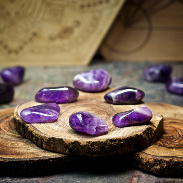 Amethyst Crystals for Grids by Healing Stones for You