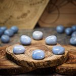 Angelite Crystals for Grids by Healing Stones for You