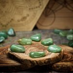 Green Aventurine Crystals for Grids by Healing Stones for You